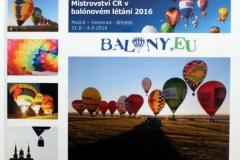 Mistrovství ČR v balónovém létání 2016