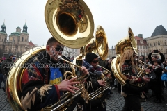 Eurocarnival and the Festival of Guggemusic Ensembles in Prague