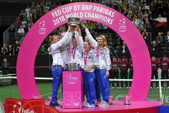 Fed Cup Final between the Czech Republic and the United States of America