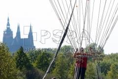 Gas Balloon fly at Letna in Prague