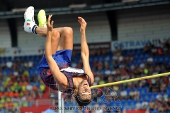 IAAF World Challenge Golden Spike event in Ostrava in the Czech Republic.