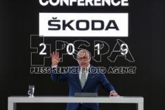 Annual press conference in Mlada Boleslav, Czech Republic.