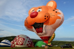 Special hot air balloon from Austria called Hugo