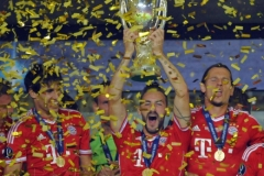 UEFA Super Cup soccer match between Bayern Munich and Chelsea FC