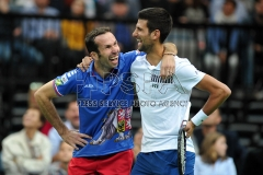 Double winner of Davis Cup Radek Stepanek say goodbye to his tennis career