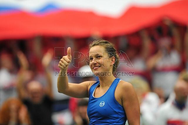 Češky jsou v semifinále Fed Cupu, zvítězili nad Španělskem