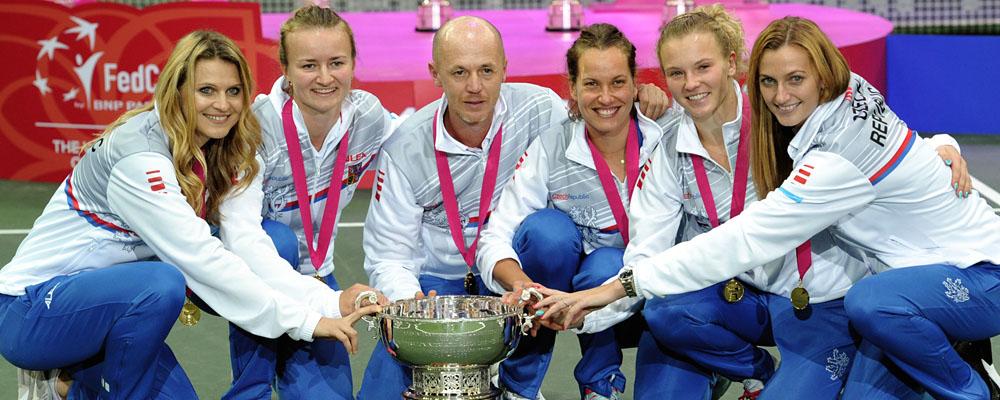 České tenistky vyhrály další Fed Cup