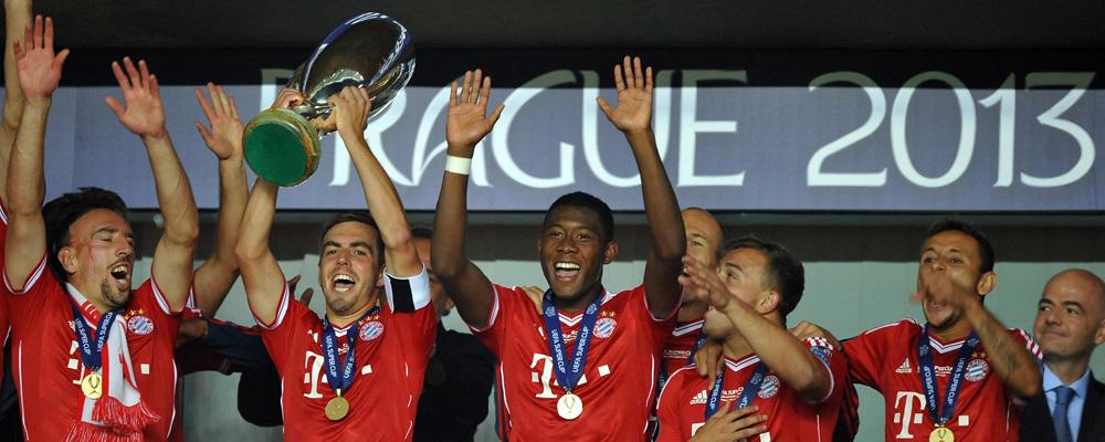 FC Bayern München won the first UEFA Super Cup