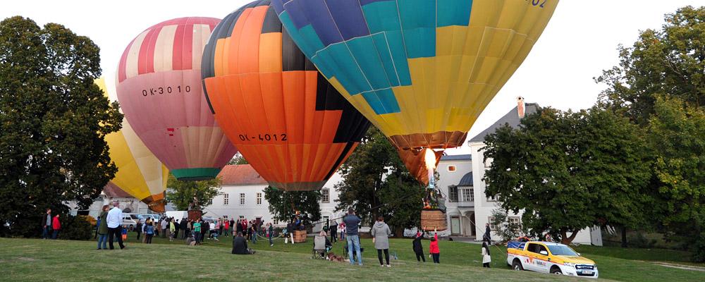 Počátky ballooningu v Československu